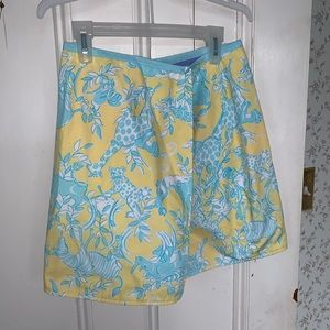 Lilly Pulitzer reversible skirt, girls 12.